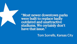 Letters: Readers discuss downtown KC baseball, Colin Powell's honor, Kansas districts