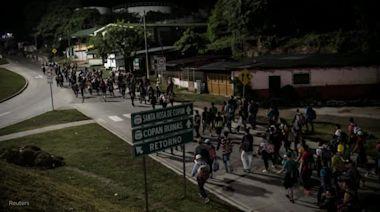 Guatemalan president says Mexico plans to contain new caravan