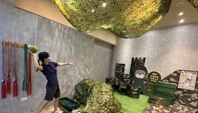 「金門老兵召集令」15日起跑 機場就可玩手榴彈投擲遊戲