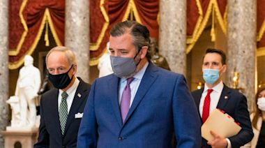 Ted Cruz's former staffers say they are 'disgusted' by his role in the US Capitol insurrection and his unflinching support of Trump, report says