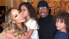 Mariah Carey Enjoys Thanksgiving's 'Blessings' with Nick Cannon, Boyfriend Bryan Tanaka & Kids