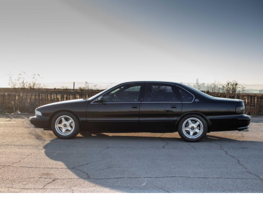 Supercharged 1996 Chevrolet Impala SS Is One Sinister Sedan