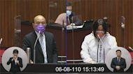 陳玉珍穿「防疫戰甲」護金門 嗆蘇揆「別搞分化」
