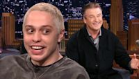 Pete Davidson Says This Lie He Told Alec Baldwin Helped Actor Lose 'Like 100 Pounds'