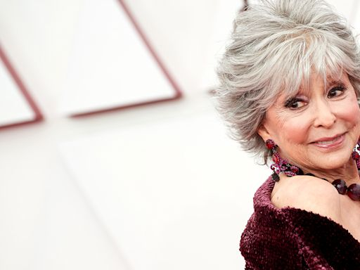 Rita Moreno fiercely responds to criticism of her appearance throughout her career