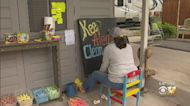 'Words Are Powerful,' Aledo Woman Issy Powell's Chalk Messages Brighten Neighbors' Daily Commute