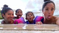 Vanessa Bryant Takes Her 3 Daughters On Vacation To Jamaica