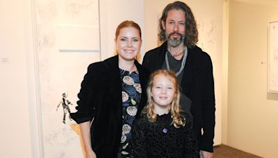 Amy Adams and Darren Le Gallo Have Family Night Out with Daughter Aviana, 9, at His L.A. Exhibit