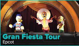 Gran Fiesta Tour Starring The Three Caballeros, Full-Length Ride, 4K | Epcot