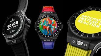 HUBLOT推奢華智慧腕錶要價18萬 專屬藝廊戴著走