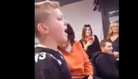 11-year-old boy grabs attention singing Adele hit
