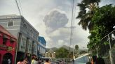 Ash coats Caribbean island of Saint Vincent after volcano eruption