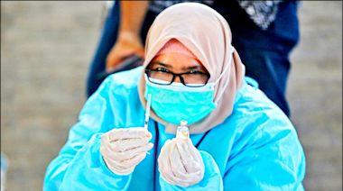 接種中國疫苗 印尼醫護大量染疫
