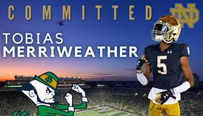 Rivals250 WR Tobias Merriweather Commits To Notre Dame Football