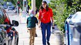Jennifer Garner Holds Son Samuel's, 9, Hand As She Takes Him Shopping For Chocolates In LA