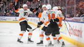 Hart, Atkinson lead Flyers to 5-3 win over Edmonton