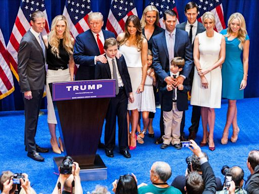 Meet the Trumps: How America's first family arrived in New York on a steamship from Germany in 1885 and built a sprawling empire in 4 generations