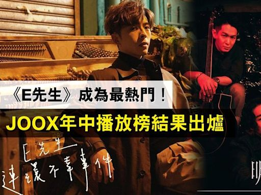 JOOX年中播放榜出爐 《E先生》成為最熱門!頭廿首歌全為廣東歌 邊個組合佔最多首呢?︱Esquire HK