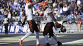 The Latest: Bengals top Ravens 41-17 for tie in AFC North