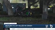 Motorcyclist killed in crash in Mission Bay