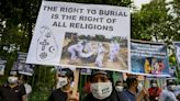 Sri Lanka allows burial of virus victims after protests