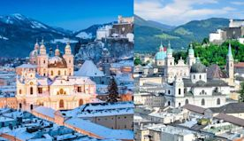 Enchanting Salzburg is a city for any season
