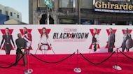 'Black Widow''s transatlantic launch party
