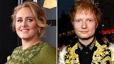Adele Jokes That She 'Ain't Panicking' That Ed Sheeran's Album Release Is Near Hers: 'He Can Panic!'