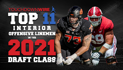 The top 11 interior offensive linemen in the 2021 draft class