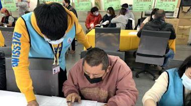 牛年澎湖就業中心首場徵才活動 求職者踴躍到場應徵