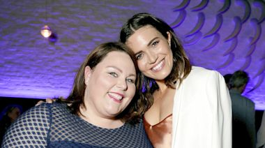 Chrissy Metz Praises This Is Us Crew for 'Working Around' Pregnant Mandy Moore's Baby Bump