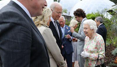 Has Joe Biden already breached royal protocol before tea with the Queen?