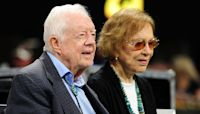Jimmy Carter and wife Rosalynn celebrate their 75th wedding anniversary
