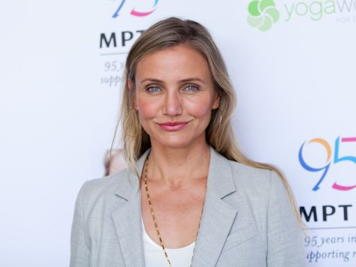 Cameron Diaz says she cooks bone marrow and liver for 11-month-old daughter Raddix: 'She never had a puree'
