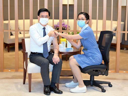 李家超籲市民盡早接種流感疫苗 勿掉以輕心