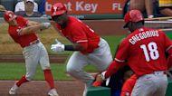 Phillies' five-run 8th inning
