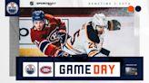 PRE-GAME REPORT: Oilers at Canadiens 05.12.21