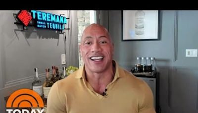 Dwayne Johnson for president? Sure, the Rock is down if it's 'what the people want'