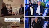 Bidens seen violating DC's indoor mask mandate