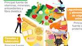 Plato del bien comer: la alimentación correcta es la base de una buena salud