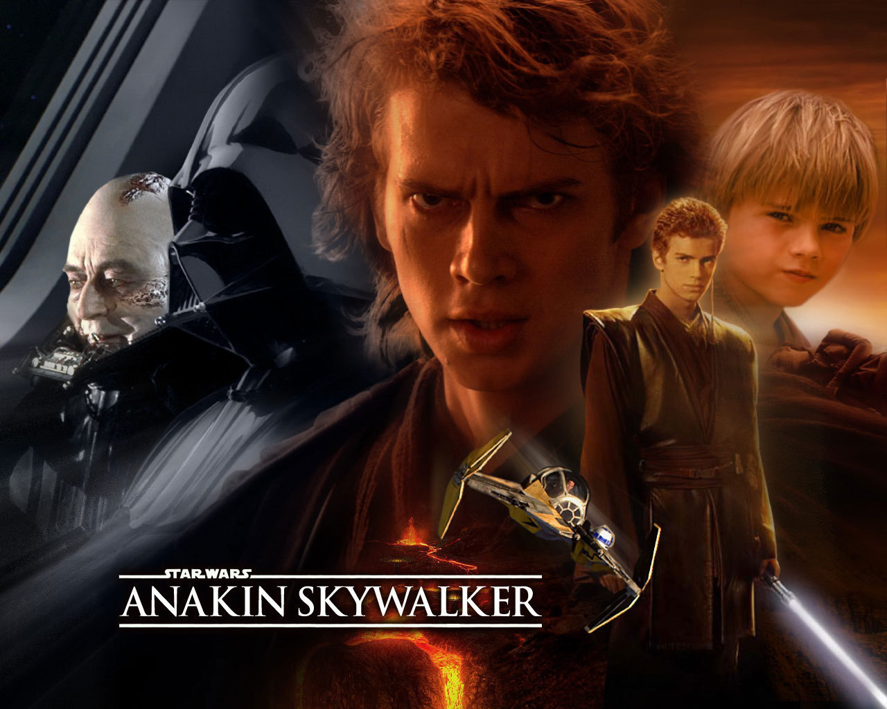 Star Wars Anakin's Evolution