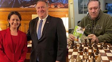 美前國務卿蓬佩奧網貼食鳳梨乾相 台外交部證今年訪台機會高 | 蘋果日報