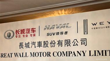 長汽(02333.HK)多名高管指因個人資金需要計劃減持公司股份