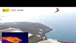 Drone Footage Traces La Palma Lava Flow to Ocean