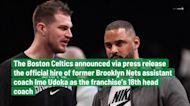 Boston Celtics officially announce Ime Udoka as franchise's 18th head coach