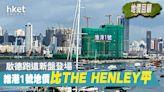 【地價回顧】啟德維港1號地價1.35萬 平THE HENLEY逾1成 - 香港經濟日報 - 地產站 - 新盤消息 - 新盤新聞