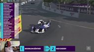 Guenther wins Formula E 'Race at Home' opener