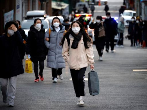 South Korea reports 583 coronavirus cases, off nine-month high