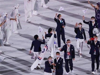 早安世界》東京奧運疫情下開幕 盧彥勳郭婞淳掌旗率台灣選手進場