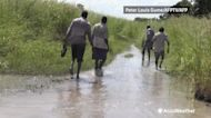 Thousands displaced by rising floodwaters in South Sudan